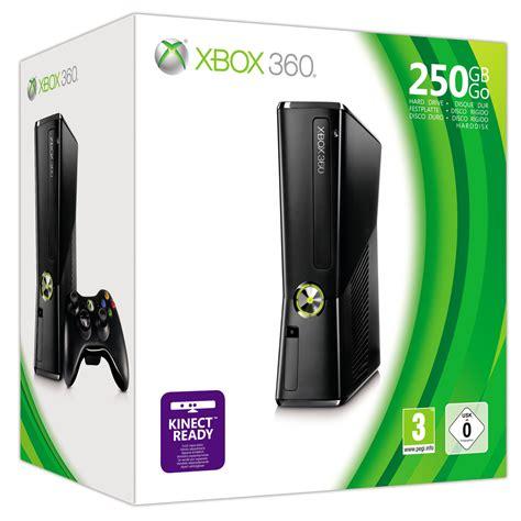 xbox 360 slim 250gb xbox 360 s 250gb matte black console microsoft brand new