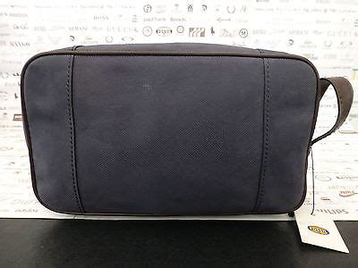 Rip Curl Rp 2201 Blbrgr Leather fossil toiletry bag camden scotch grain leather navy travel wash bags bnwt rp 163 69 uber surf