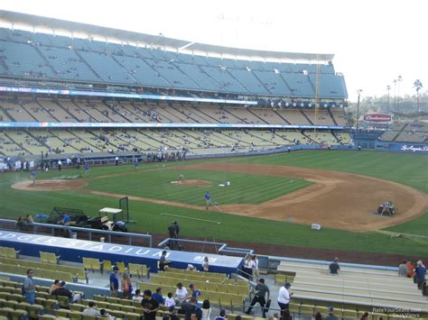Dodger Stadium Sections by Dodger Stadium Section 140 Rateyourseats