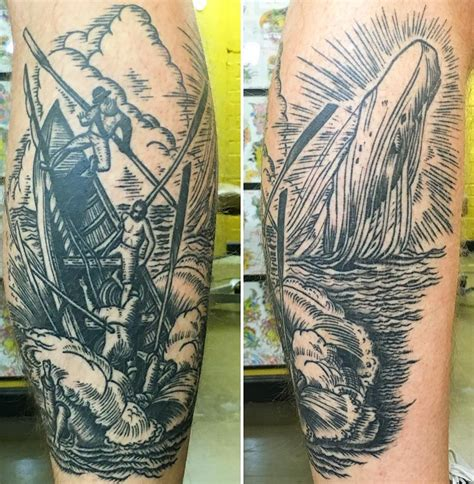 moby dick tattoo whale meaning ink vivo