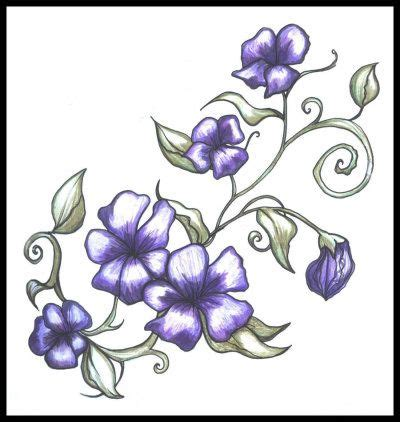 morning glory tattoo designs top 25 best morning ideas on