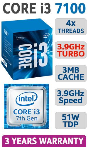 Intel I3 7100 3 9ghz buy intel i3 7100 upgrade kit free shipping south africa at evetech co za