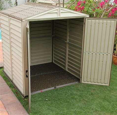 plastic shed upvc sheds plastic outdoor storage buildings workshops