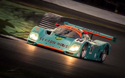 house porsche ot leyton house porsche 962 from the silverstone classic wec