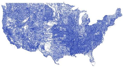 rivers map river map usa
