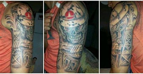 oilfield tattoos oilfield ideas