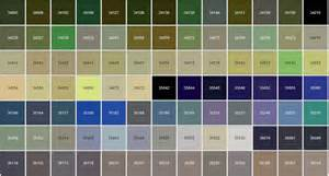 federal standard 595 color chart beautiful scenery