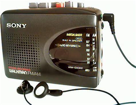 cassette walkman sony kills cassette walkman 22moon