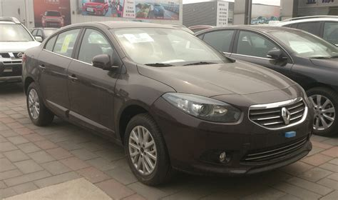 renault china file renault fluence facelift china 2014 04 24 jpg