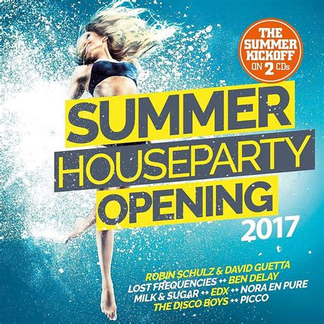 house cd summer house opening 2017 various artists cd