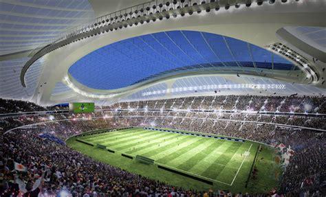 designboom zaha hadid japan tokyo new national stadium by zaha hadid s design art