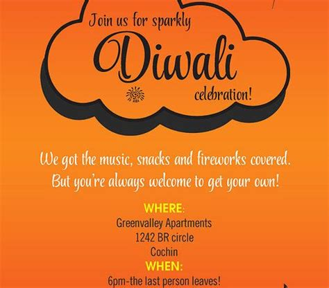 Invitation Letter Diwali Celebrations 17 best images about free diwali invitation cards and wording sles on dinner