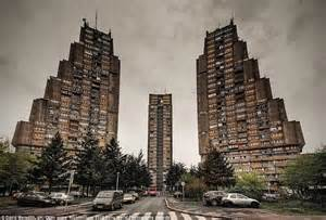 Germany Recycling Communist Housing Blocks An Communist Era Housing Block In Belgrade Serbia I Think They Look Mythic Socialistart