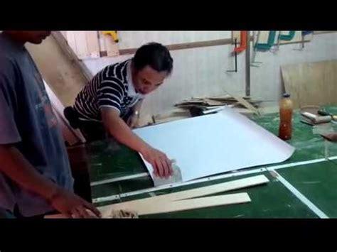 Pelapis Triplek Pvc cara memasang hpl pvc pada furniture 3