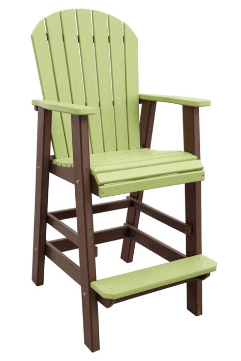 Adirondack Bar Stools by Outer Banks Adirondack Furniture Bar Restaurant