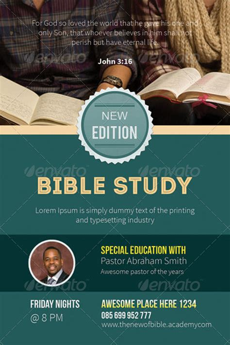 bible study flyer template free 15 chosen premium psd templates