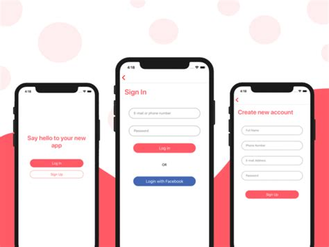 Mobile App Templates For Ios And Android Download Instamobile React Chat Template