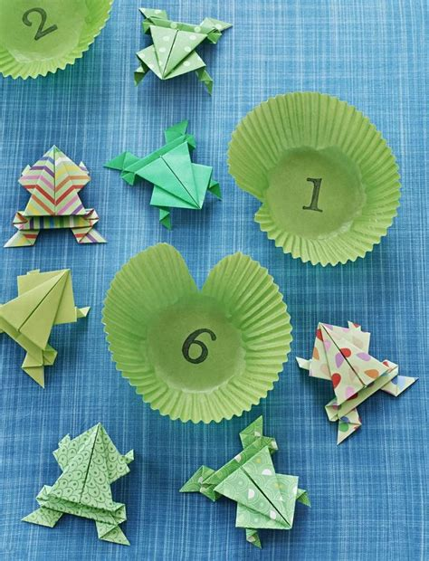 How To Teach Origami - 25 best ideas about origami frog on easy