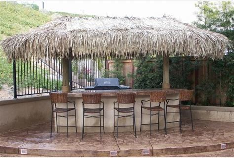 Custom Tiki Huts Paradise Outdoor Kitchens Outdoor Backyard Tiki Hut