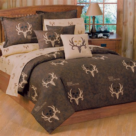 camouflage comforter sets king size bone collector