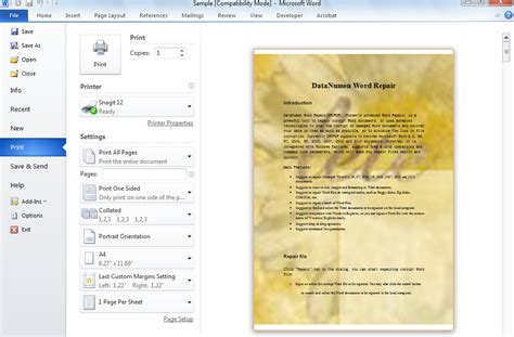 printable area word document how to print word documents with background colors or