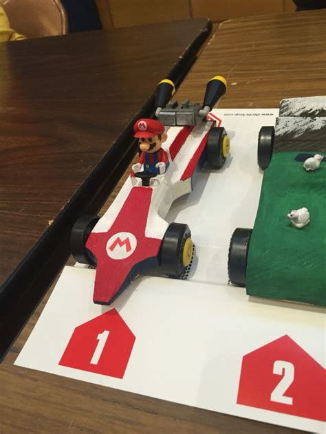 mario kart pinewood derby template 14 best pinewood derby images on pinewood