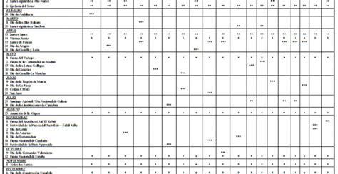 Calendario Laboral 2017 Pdf Ya Conocemos El Calendario Laboral Para 2017 Tendr 225 12
