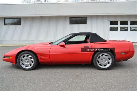 best car repair manuals 1992 chevrolet corvette electronic valve timing 1992 chevrolet corvette convertible