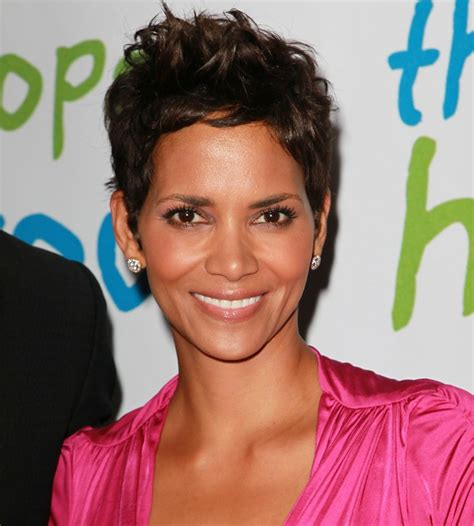 halle berry hairstyles for women over 50 short messy haircut from halle berry hairstyles weekly