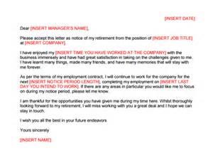 Retirement Letter Sle Employee by Sle Letters Archives Sle Letter