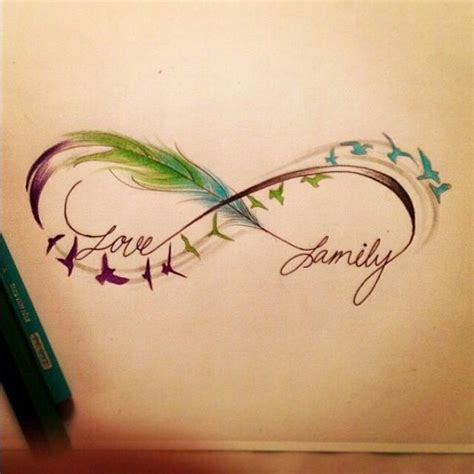 infinity tattoo cliche 25 best ideas about family name tattoos on pinterest