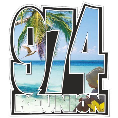 Stiker Re ile de la r 233 union stickers sticker 974