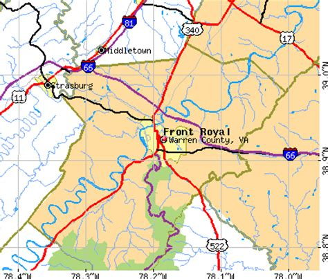 Virginia Judiciary Search Warren County Geography Of Warren County Virginia