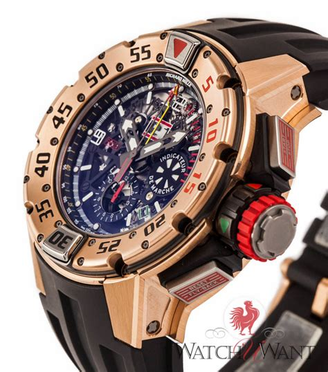 Richard Mille Date On sold listing richard mille rm032 divers flyback