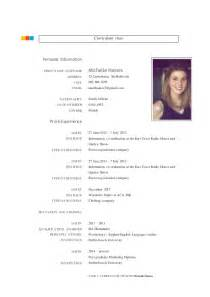 Curriculum Vitae Lattes by Michelle Haines Cv 2015 Word