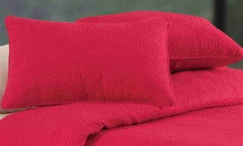red matelasse coverlet hton red quilted matelasse quilt