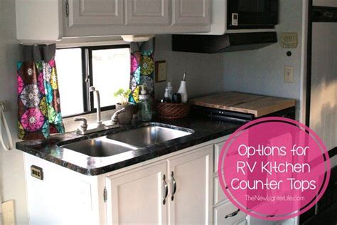 kitchen counter options kitchen countertops the options cool rv makeover ideas