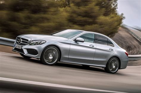 2015 mercedes c class front view in motion photo 1