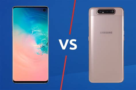 Samsung Galaxy A80 Vs Iphone Xr by Samsung Galaxy A80 Vs Galaxy S10 Trusted Reviews