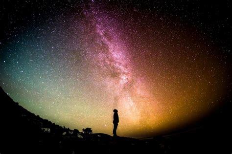 kostenlose bild himmel nacht galaxie milchstrasse