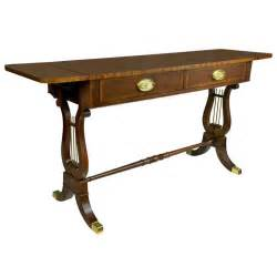 Drop Leaf Console Table Vintage Baker Drop Leaf Sofa Console Table At 1stdibs