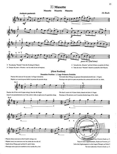 Musette Suzuki Piano Book 1 Violin School 2 Revised Edition From Shin Ichi Suzuki