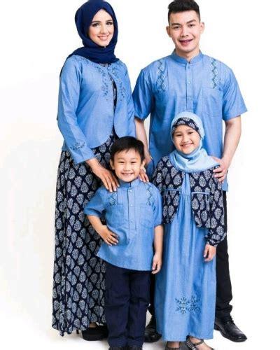 Baju Muslim Keluarga Modern 22 Model Baju Sarimbit Keluarga Modern Elegantria
