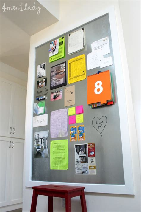 magnetic boards for rooms diy magnetic board