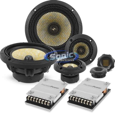 3 way component speaker system new precision power ppi p65c3 400w 6 5 quot 3 way component