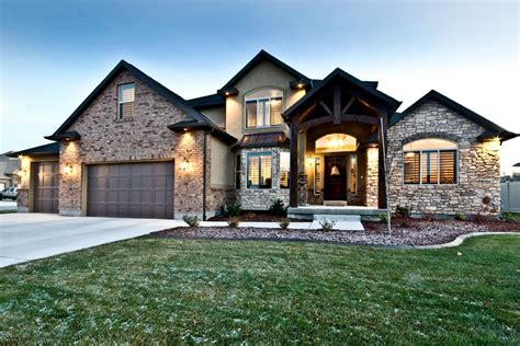 Custom Home Designs The Christopher Custom Home Plans From Utah County Builders