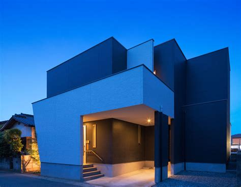 designboom japanese house masahiko sato h house channels corbu with polychrome cutouts