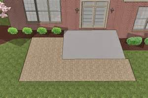 Extend Patio With Pavers How To Install Pavers Existing Concrete Patio And Extend Out The Great Outdoors