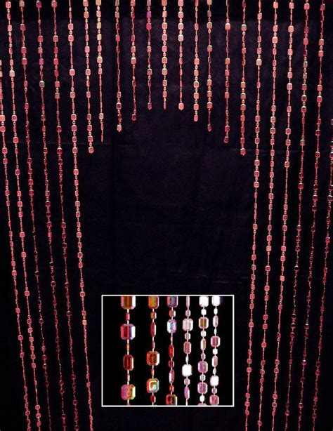 red beaded curtains 6 red raindrop beaded curtain that bohemian girl