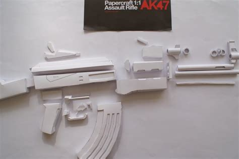 Papercraft Ak 47 - paper ak 47 anyone tried this pics included honda tech